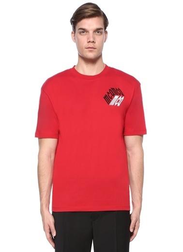 McQ Alexander McQueen Tişört Kırmızı